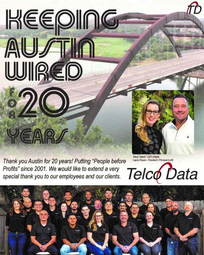 Telco Data's 20 Years Anniversary