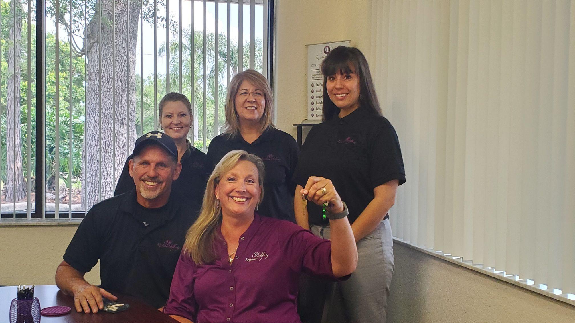 Kristina Helferty, CPA, Opens Local Office