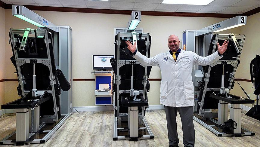 Dr. Graham Kern, Lakeland Disc Center, FL