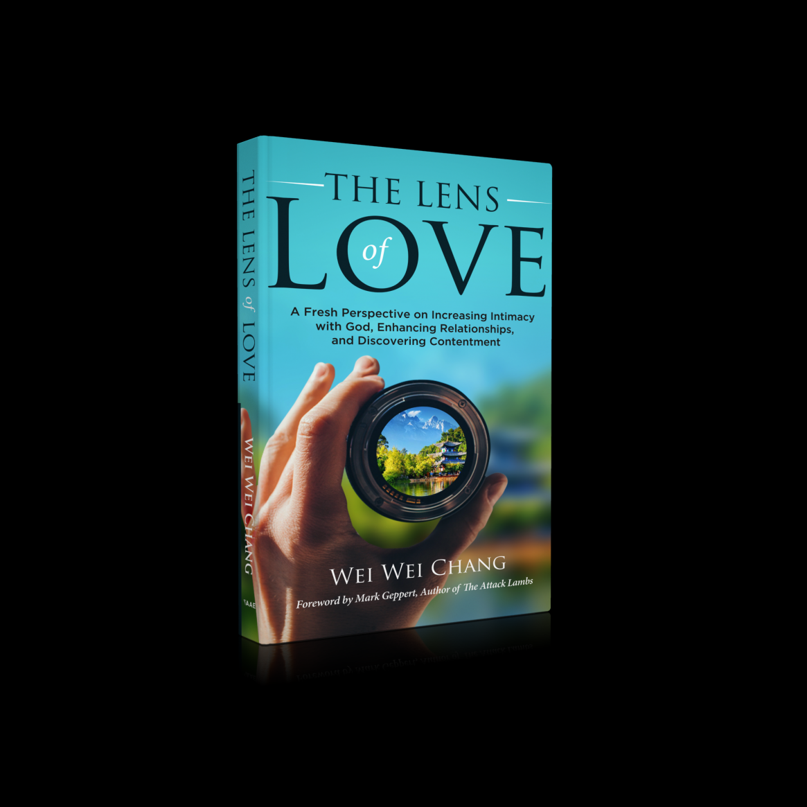The Lens of Love, available on Amazon