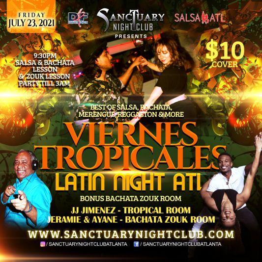 Friday Latin Night Atlanta