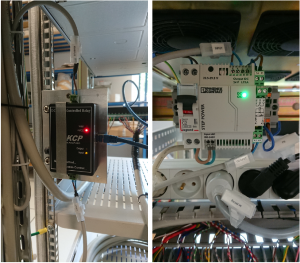 DC Sensor controlled relay for remote generator