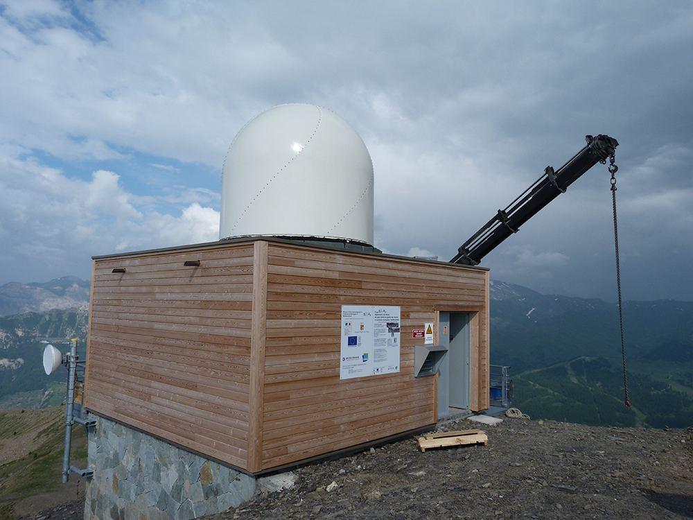 Meteo France Remote Radar Site