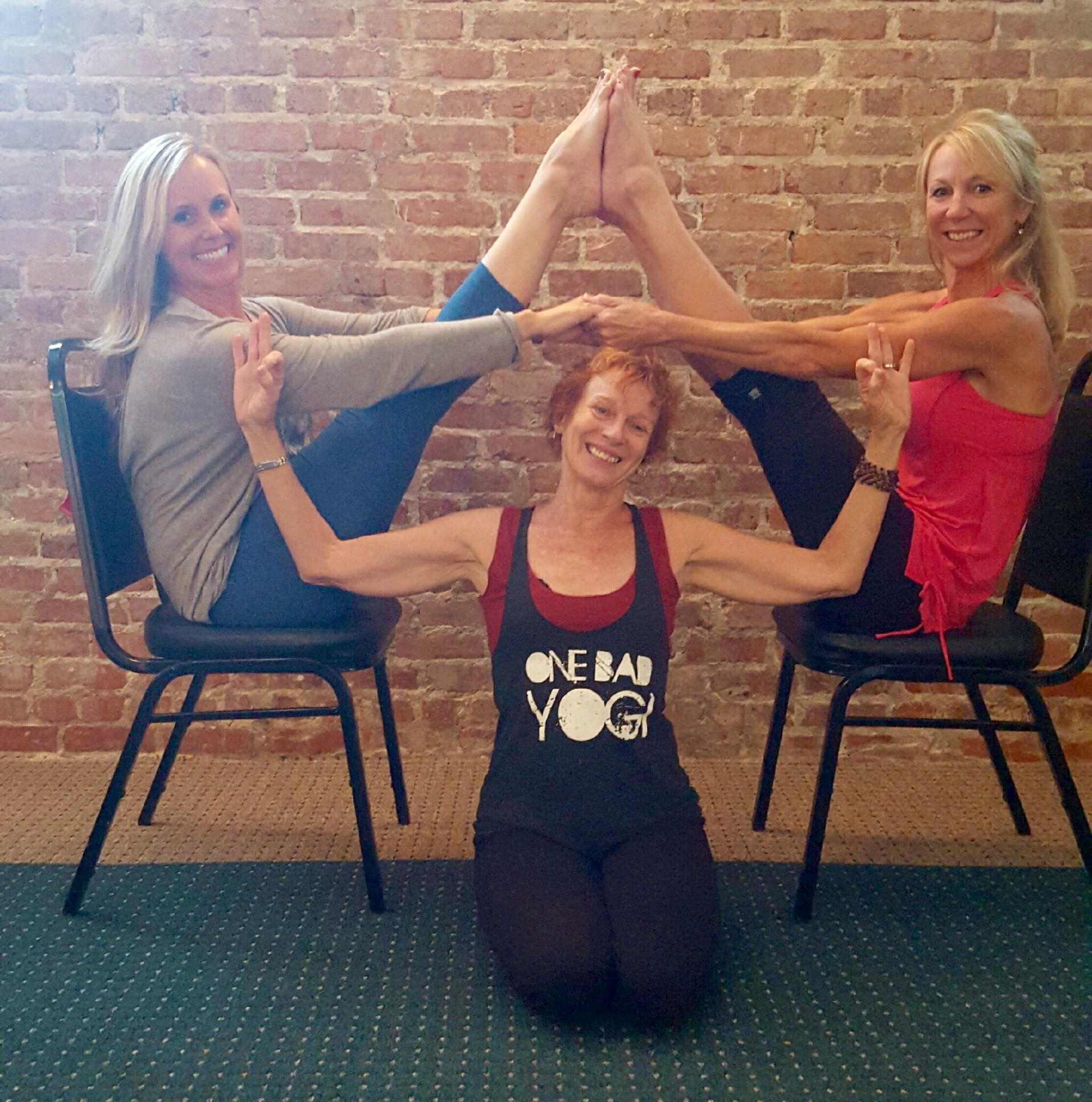 Pair Chair Yoga