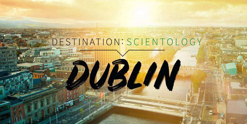 "The ""Destination:Dublin"" program on Scientology.TV"