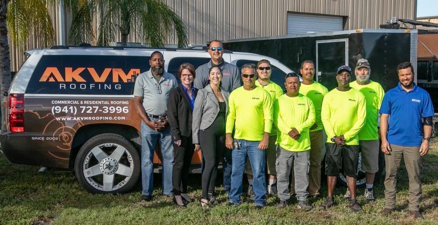 AKVM Roofing Team