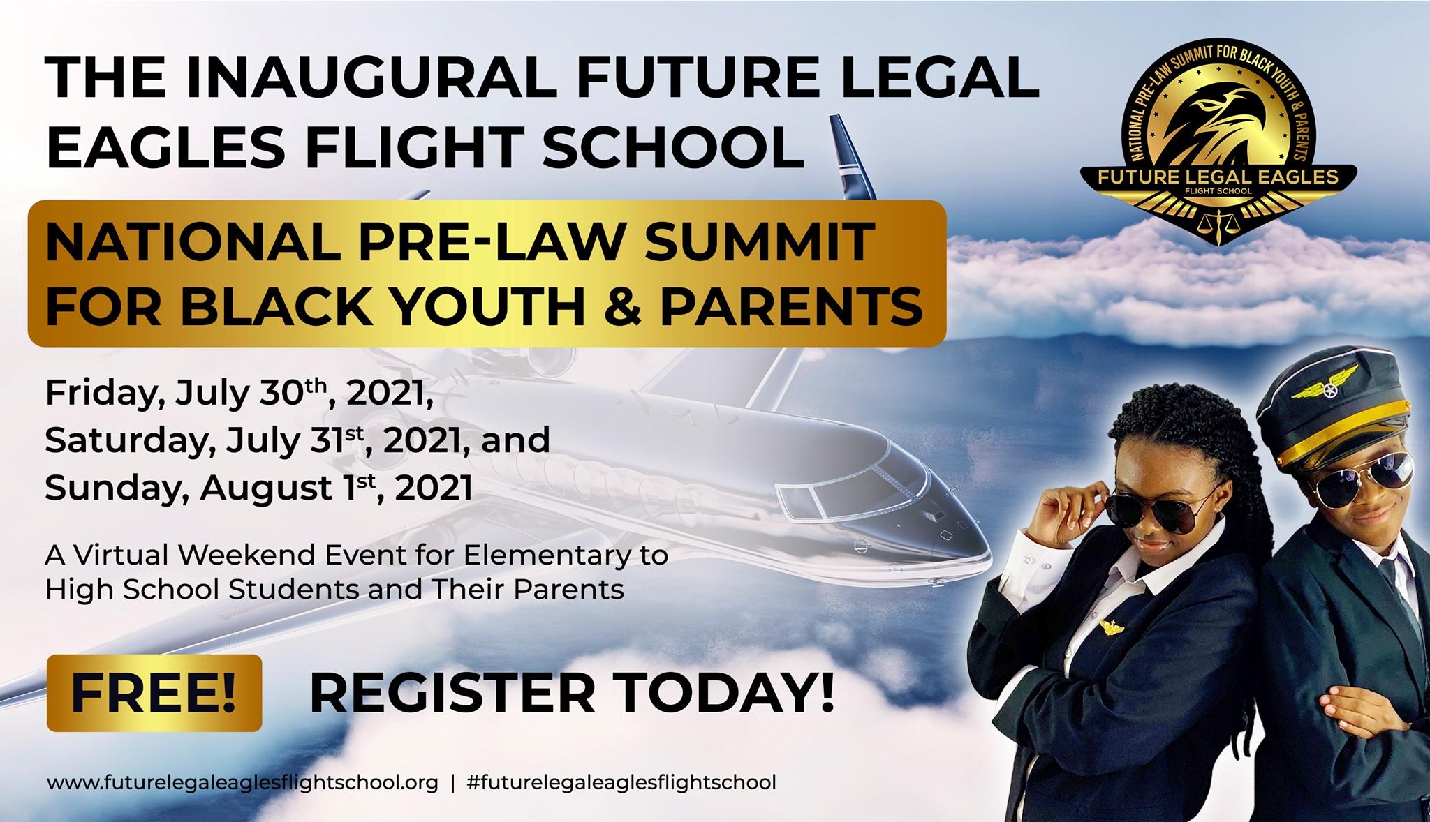 Future Legal Eagles Flight School Official Flyer