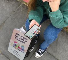 Use your bag around London & earn conscious coins