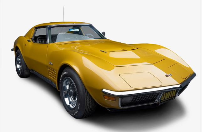 The grand prize is a 1 of 188 1971 454 Corvette.