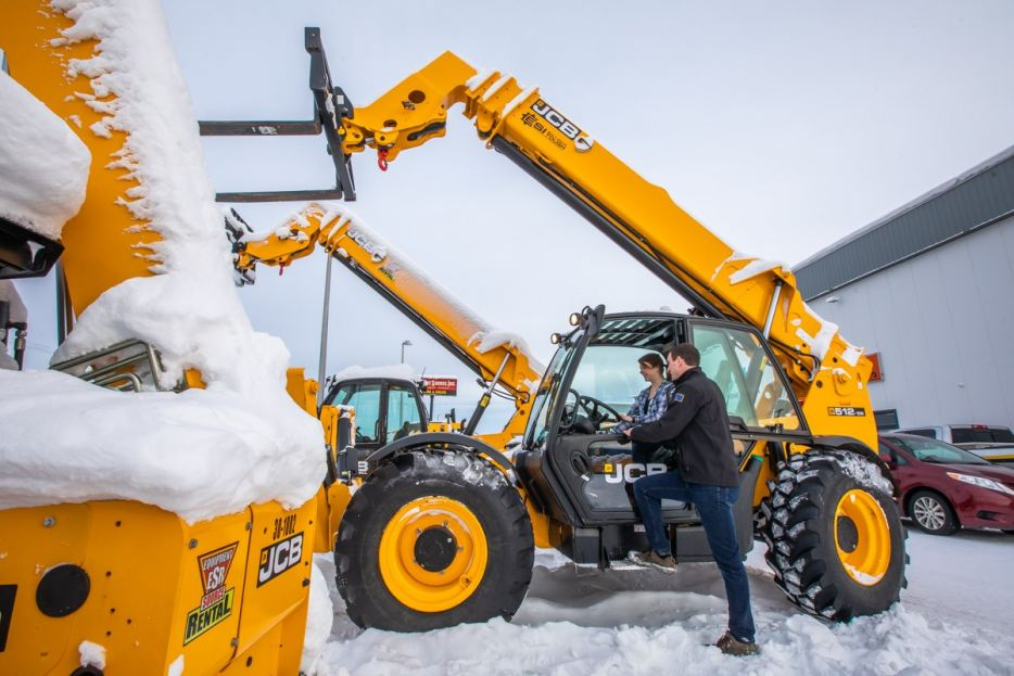 ESI offers both Kubota and JCB for the busy summer