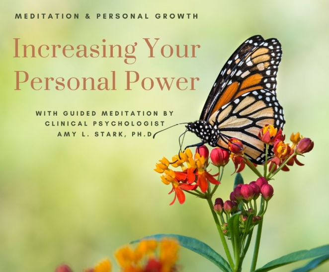 Increasing Your Personal Power guided meditation