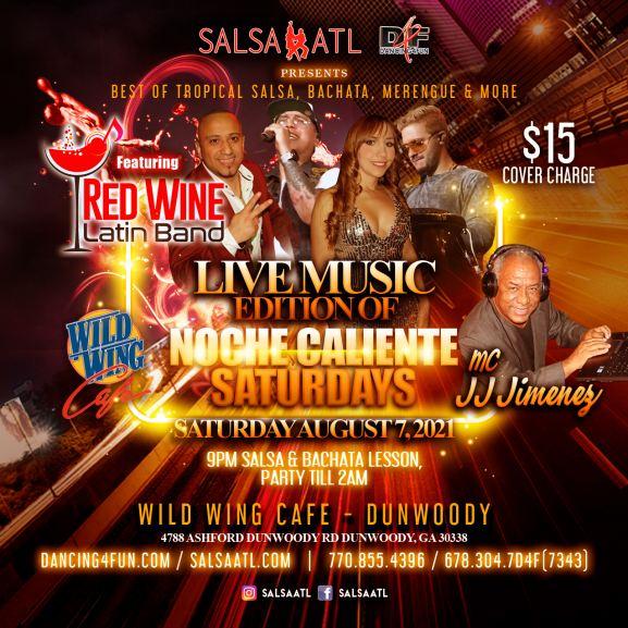 Live Salsa Band Atlanta