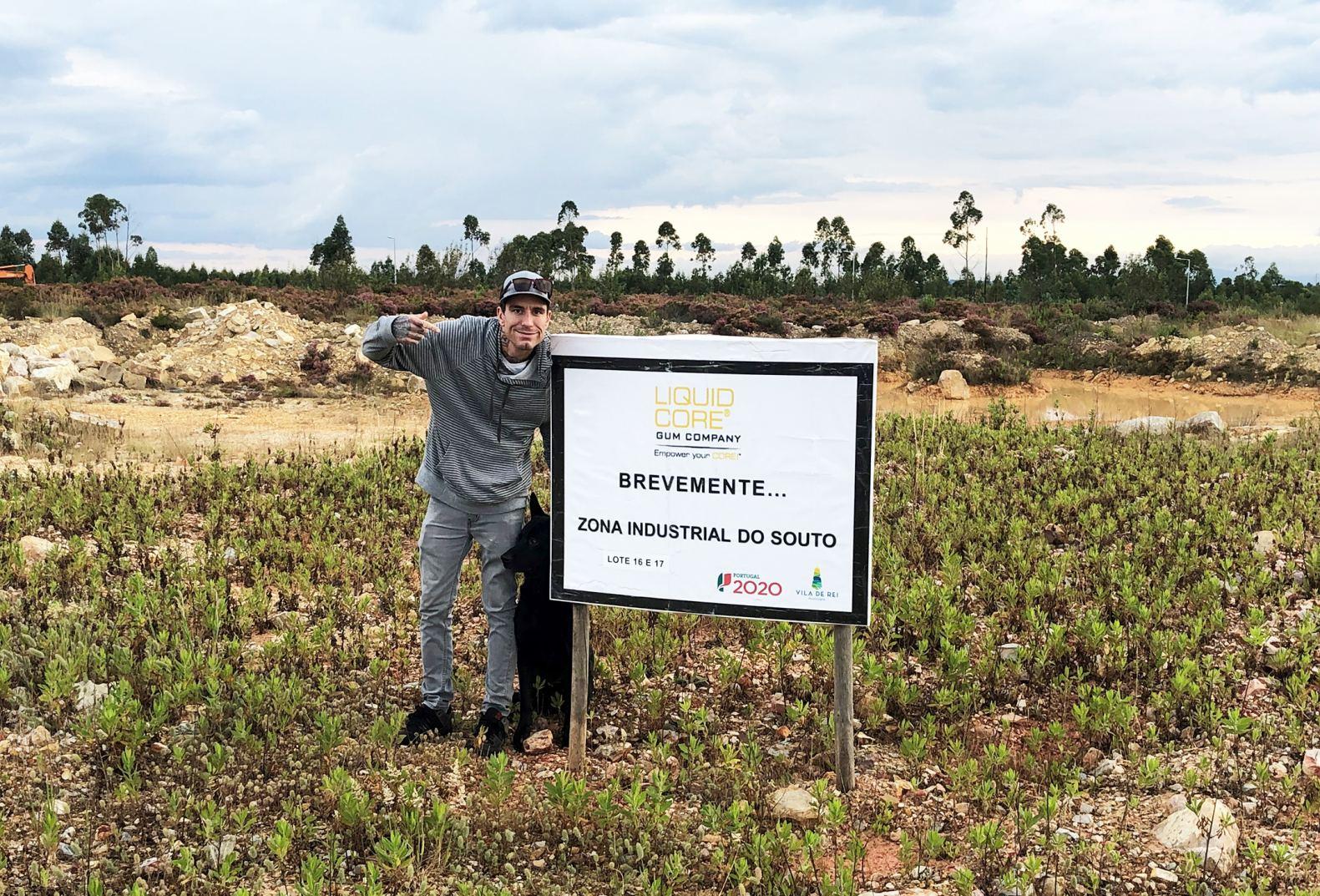 Scott Murga of Liquid Core® USA at Portugal Site