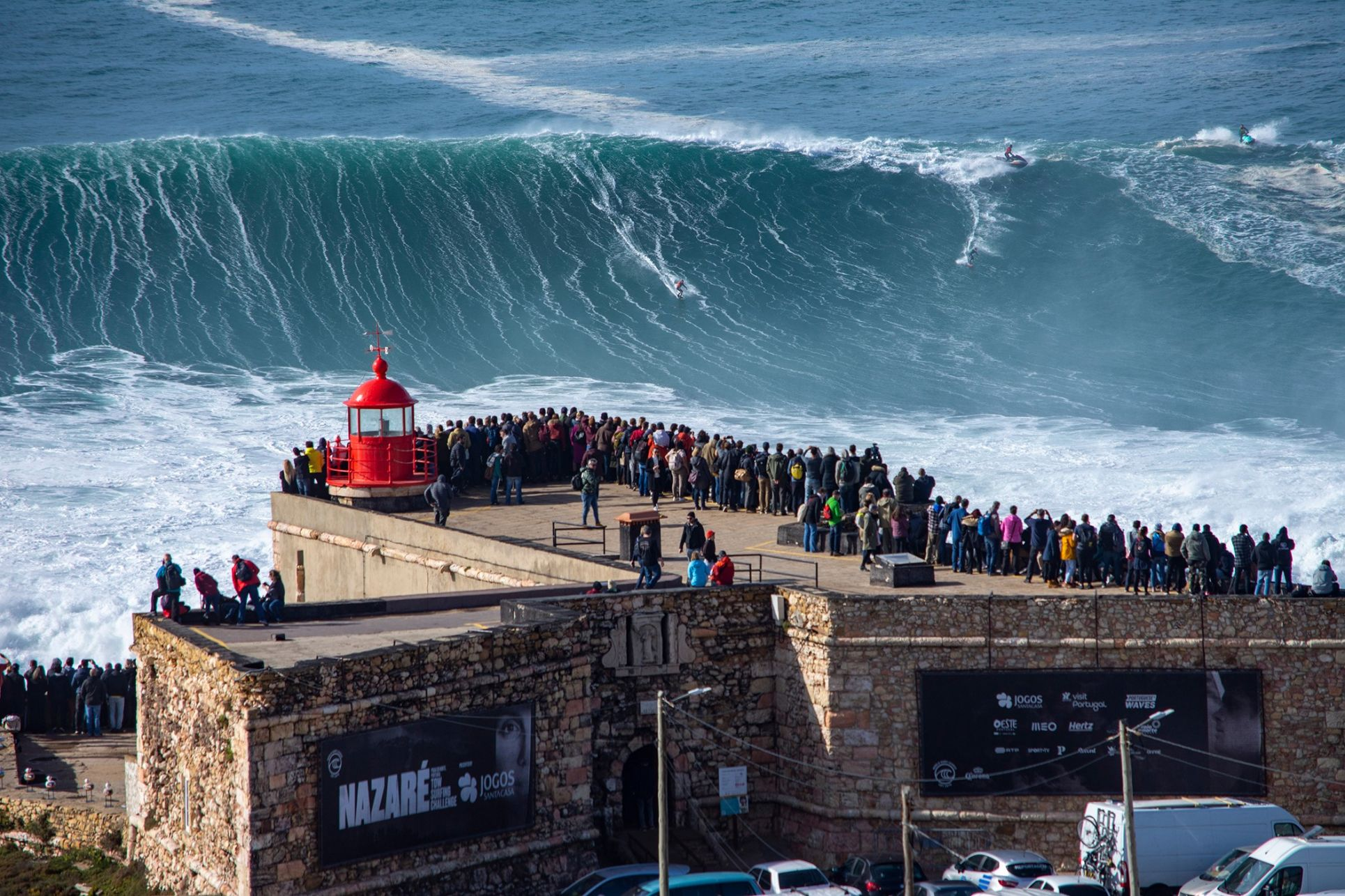 The Epic Nazaré Waves that Inspired Liquid Core®