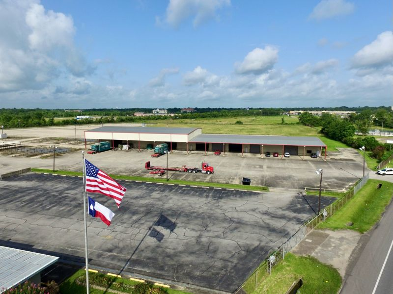 Overhead shot of the new facility in Texas