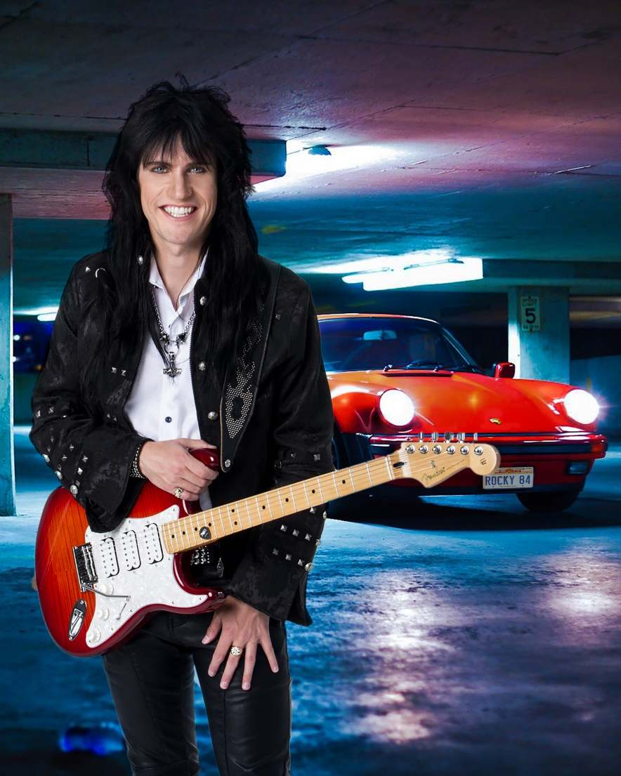 Guitar Sensation Rocky Kramer will play Lars Olsen