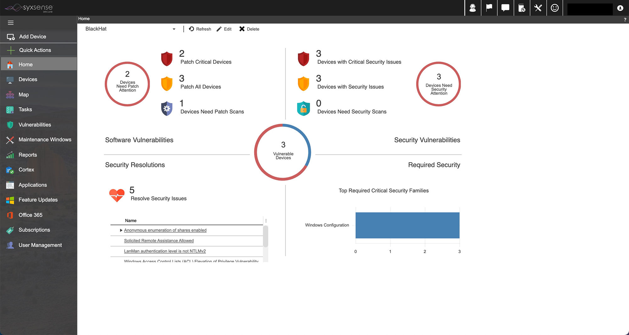 Syxsense Scans Devices for Security Vulnerability