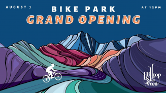 Come try out the Hilltop Bike Park on August 7th!