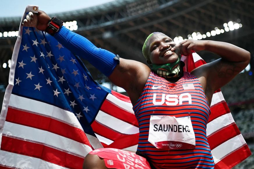 2020 US Olympic Silver Medalist Raven Saunders