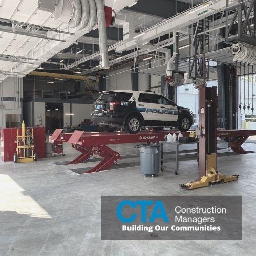 Burlington's new 77,000lb capacity lift in action