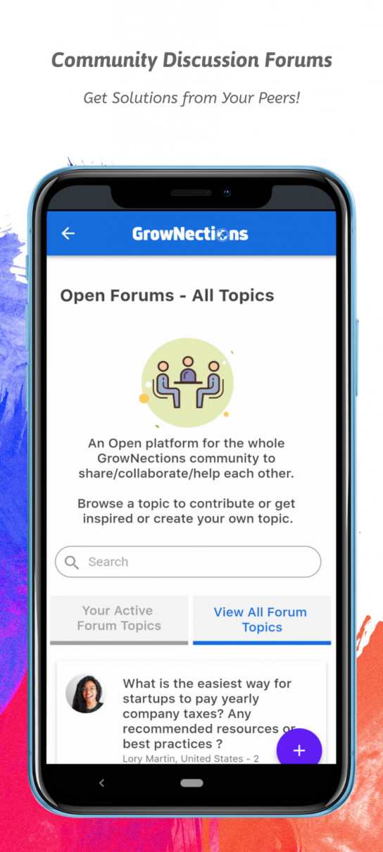 Grownections - Discussion Forums