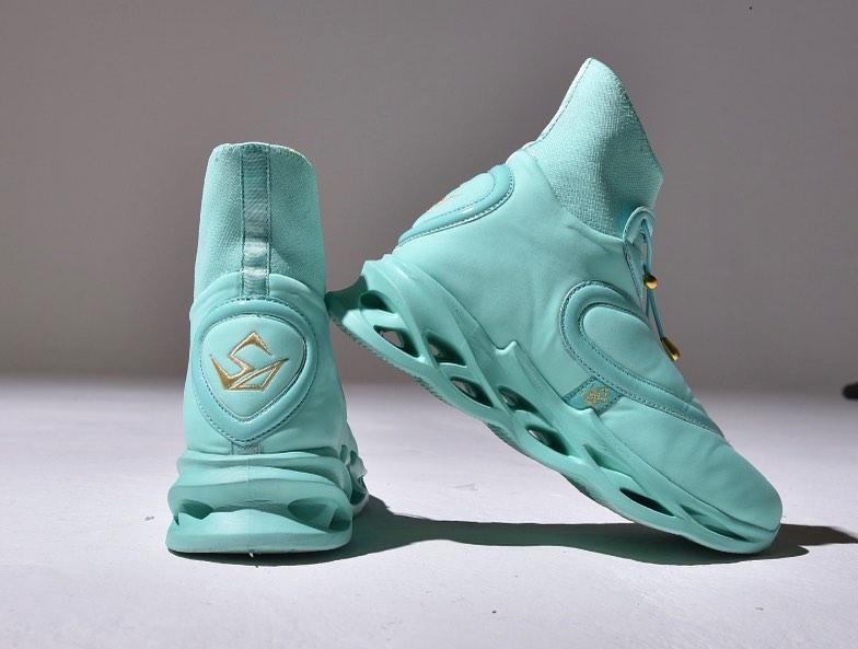 TRONUS Sneakers In Aqua
