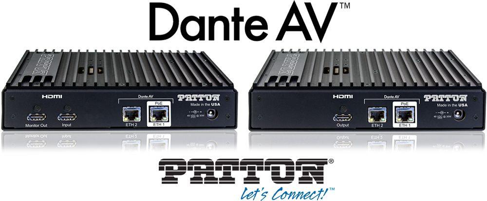 FPX 6000 AVoIP Gateway - Dante AV