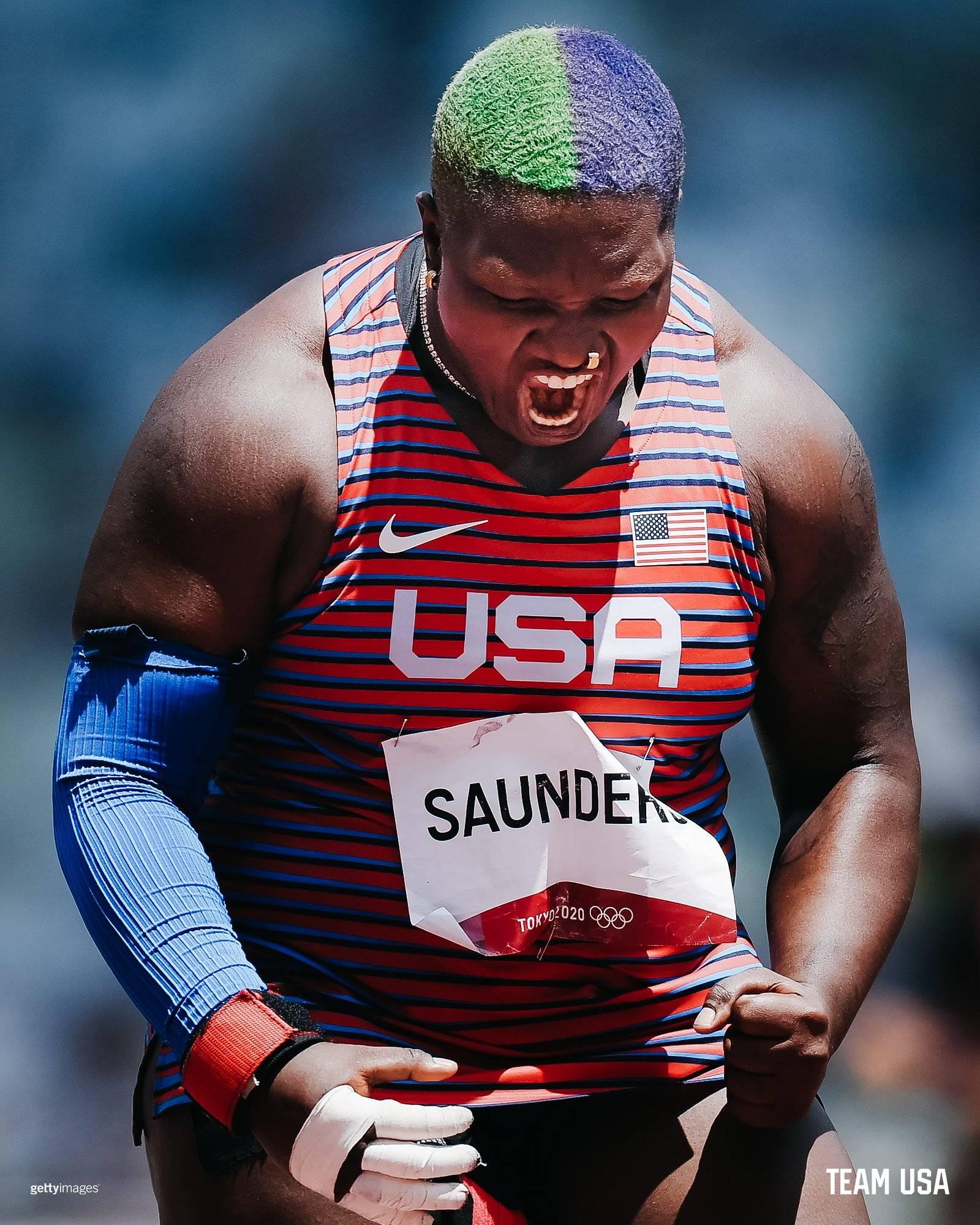 Raven Saunders - Team USA