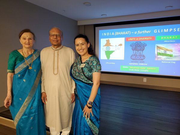 HWTE brought presentation on India to seniors.