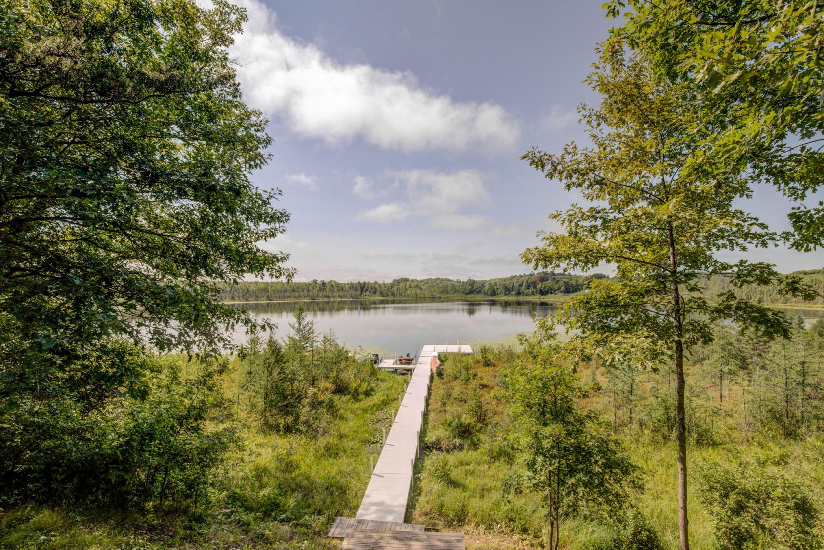 Land for sale on a lake in MN