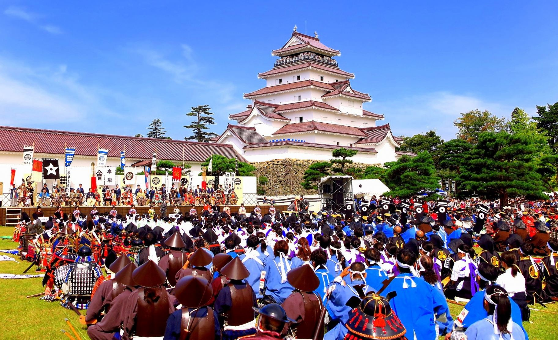 Aizu Wakamatsu Festival With Tsuruga Castle