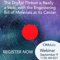 CIMdata webinar - 9 September