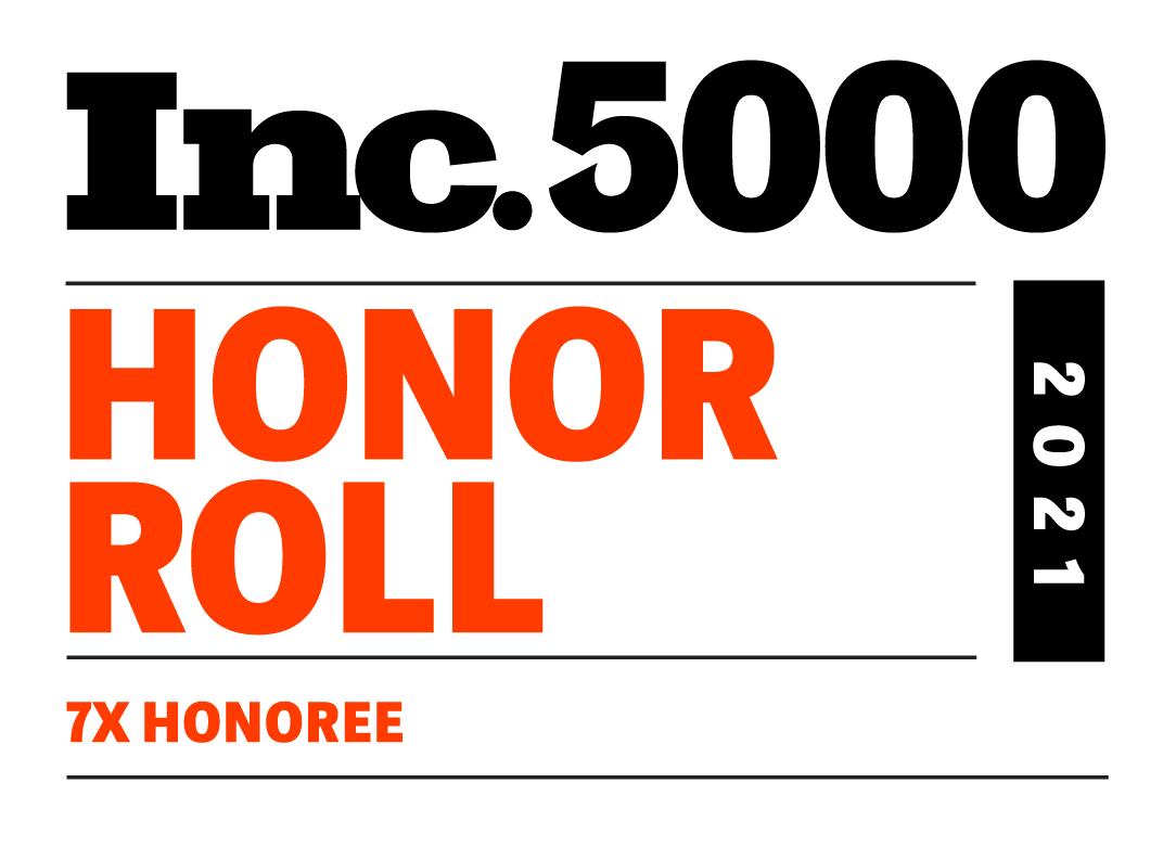 Inc5000 2021 Custom Honorroll 7x