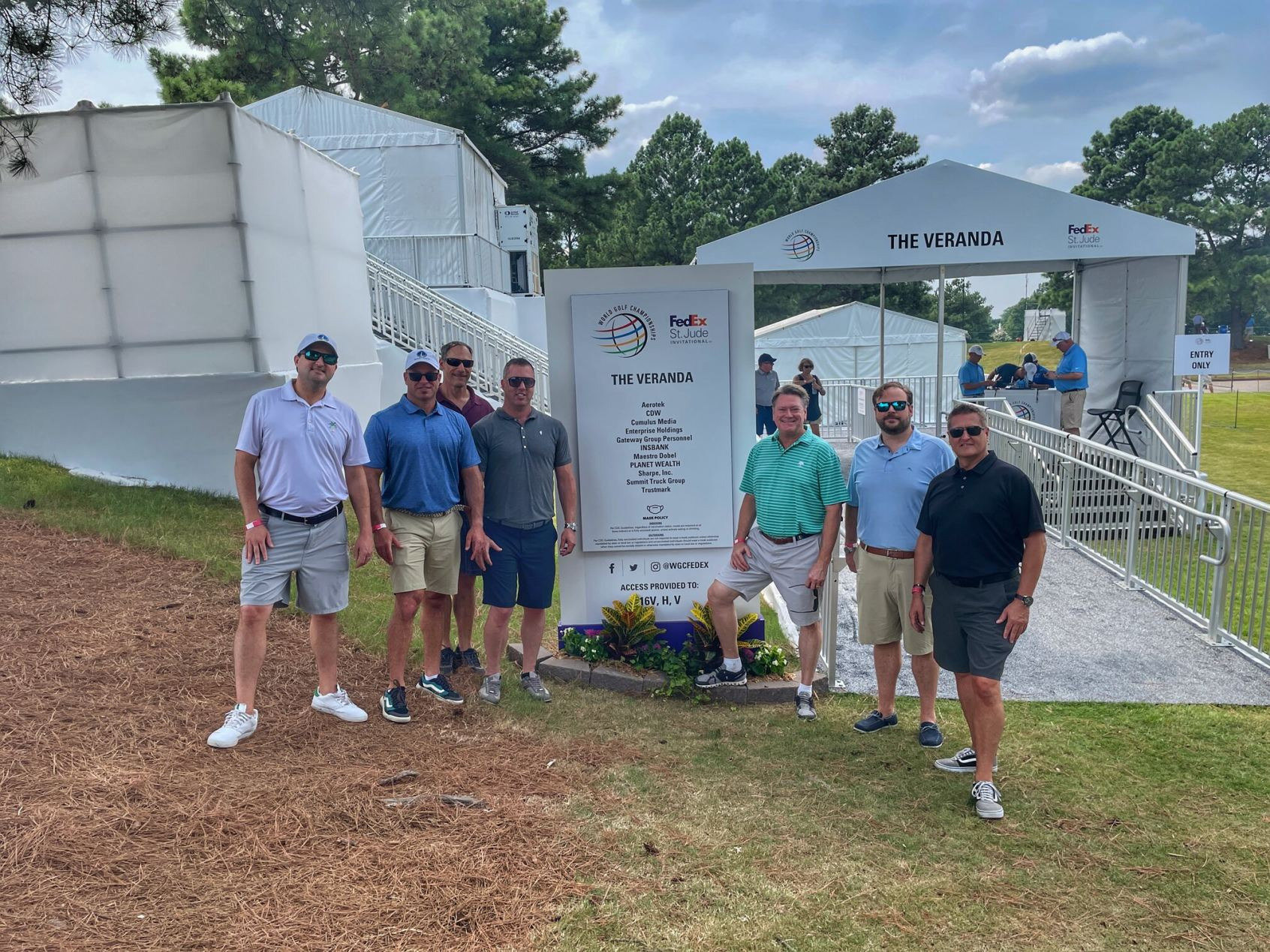Planet Wealth & Ezzey team at WGC day 1