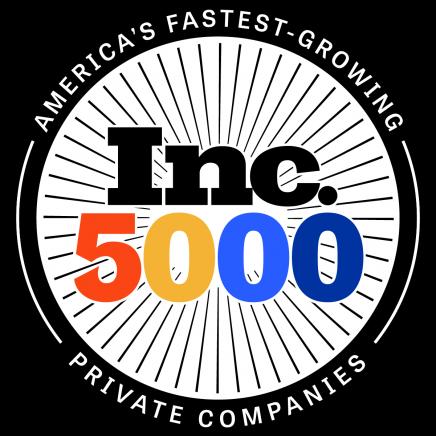 Inc 5000 Color Medallion Logo