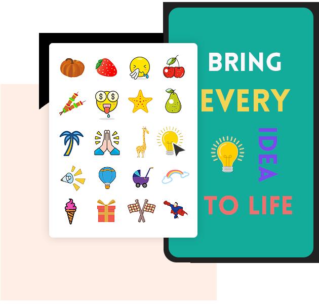 Mango Animate Text GIF Generator Stickers & Icons