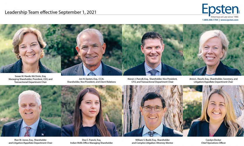 Epsten, APC Leadership Team Effective Sep. 1, 2021