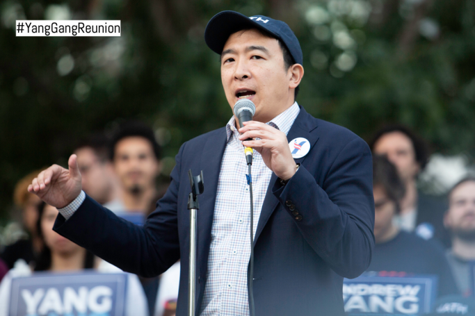 Andrew Yang 2020 Presidential Candidate
