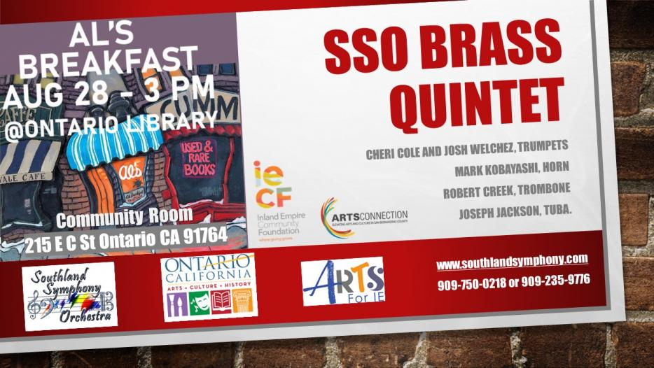 Music for Breakfast at Al's - SSO Brass Quintet