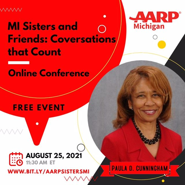 Paula D Cunningham, State Director AARP