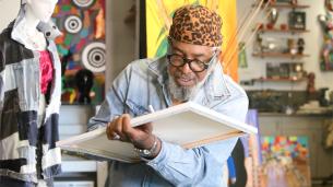 World-renowned artist Gerry 'GOS' Simpson
