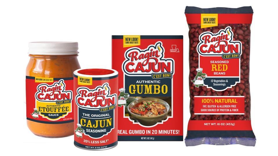 Ragin Cajun Packaging Set