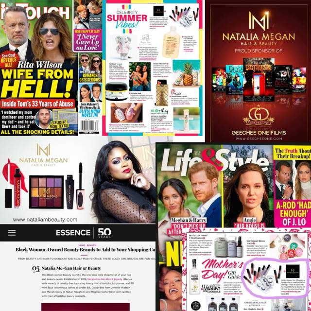 Natalia Me-Gan Beauty Media Highlights