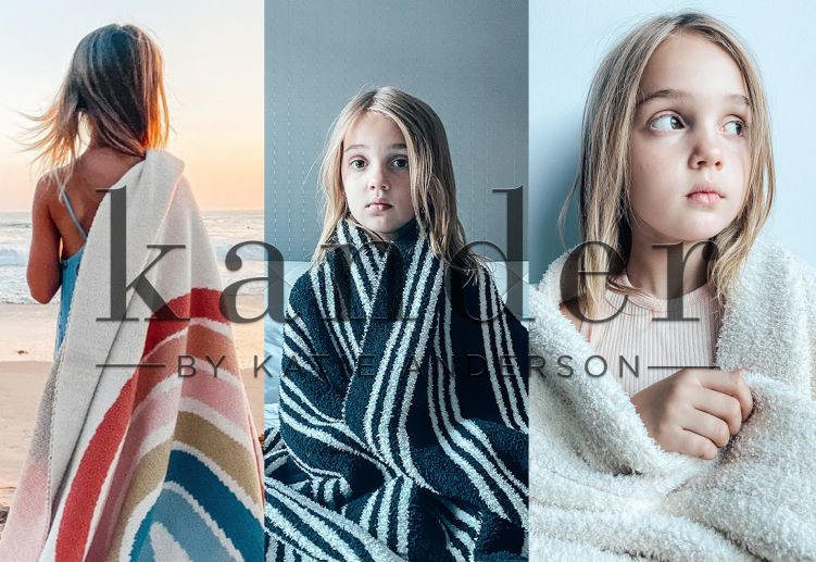 Kander by Katie Anderson offers luxury blankets