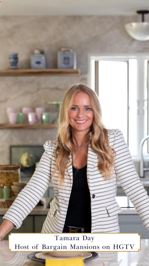 Tamara Day, design expert featured on HGTV