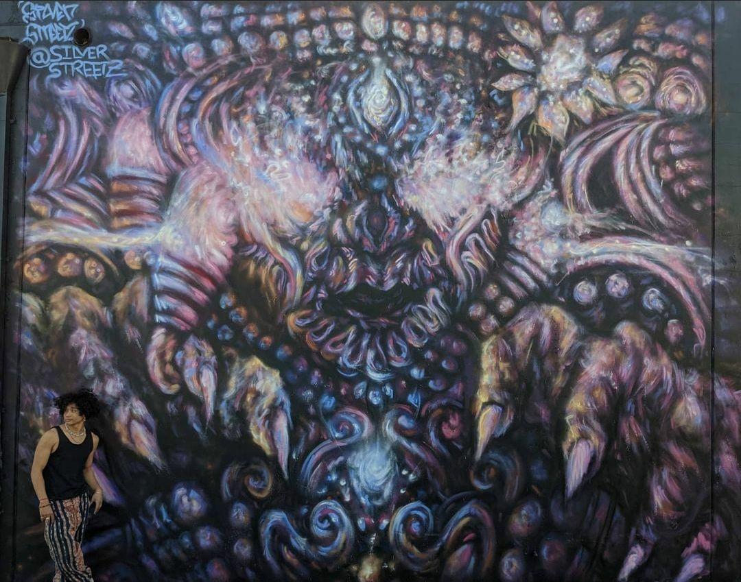Silverstreetz Mural Gardena