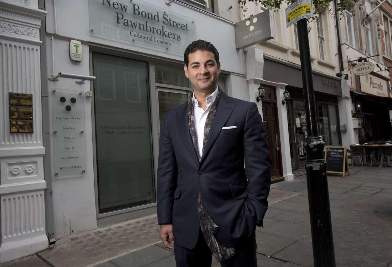 David Sonnenthal, New Bond Street Pawnbrokers