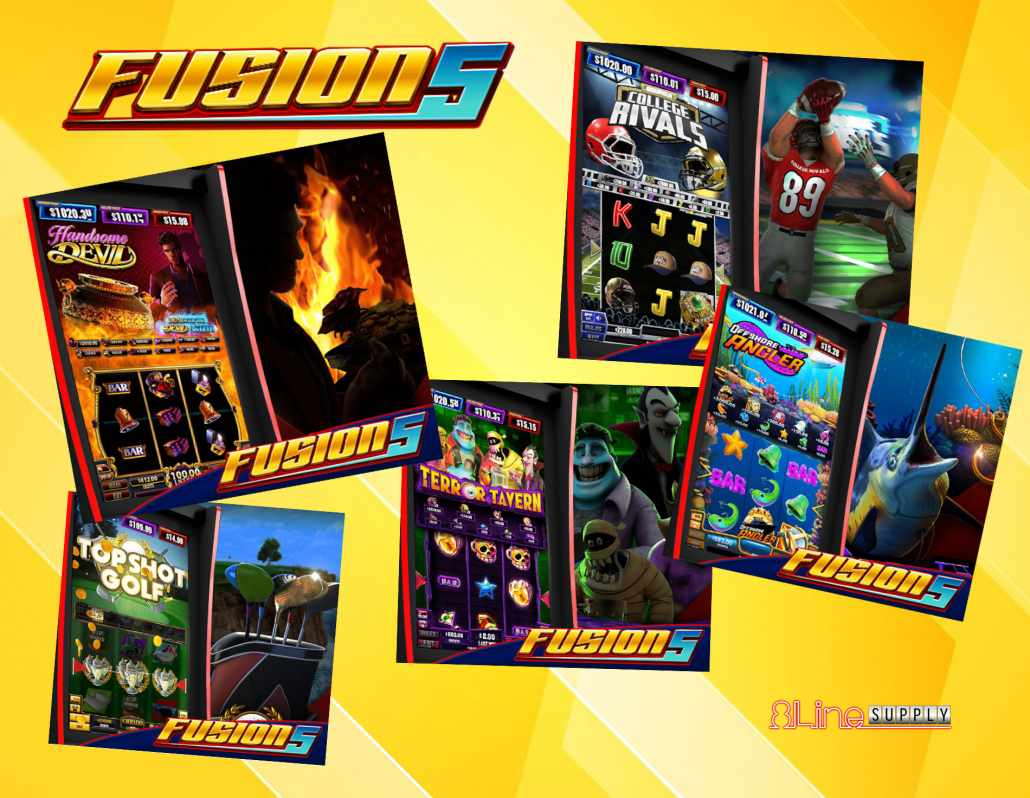 Fusion 5 multi-game from Banilla Games