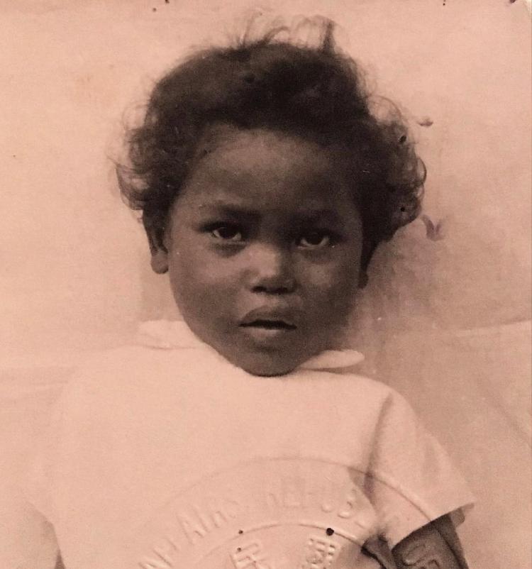 Bang Sun (Saundra Henderson Windom as a child)
