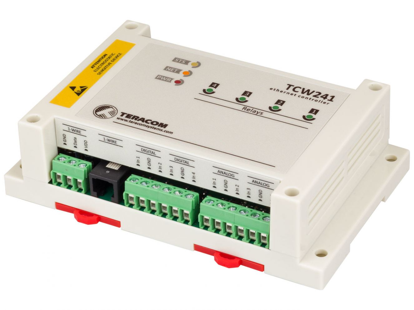 Teracom TCW241 for Factory Automation & Industrial